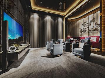 home theater installation by ECS AV